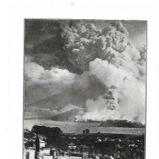 Coleccionismo: AÑO 1914 RECORTE PRENSA JAPON CATASTROFE VOLCAN ERUPCION DESTRUCCION CIUDAD KAGOSHIMA. Lote 180110988