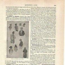 Coleccionismo: LAMINA ESPASA 33867: APUNTES, POR RAMON ALORDA. Lote 180143840