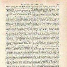 Coleccionismo: LAMINA ESPASA 33768: ESCUDO DE LOS ALIAGA. Lote 180146566