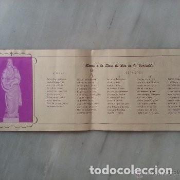 Coleccionismo: PROGRAMA DE ACTOS ROMERIA DE LA FONTCALDA(GANDESA) 1953 - Foto 3 - 180186968