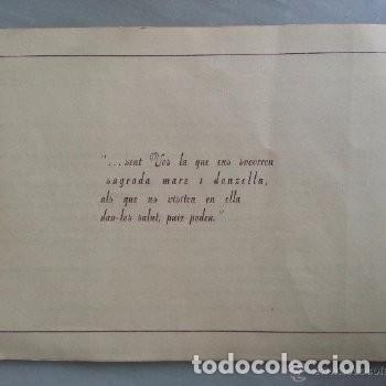 Coleccionismo: PROGRAMA DE ACTOS ROMERIA DE LA FONTCALDA(GANDESA) 1953 - Foto 4 - 180186968