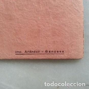 Coleccionismo: PROGRAMA DE ACTOS ROMERIA DE LA FONTCALDA(GANDESA) 1953 - Foto 5 - 180186968