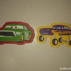 Coleccionismo: 2 IMANES DE CARS , PLASTICO BLANDO , LEER DESCRIPCION. Lote 180213655