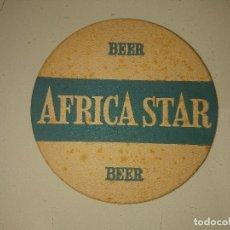 Coleccionismo: POSAVASOS AFRICA STAR BEER, LEER DESCRIPCION. Lote 180216053