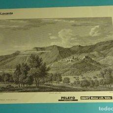 Coleccionismo: LÁMINA VISTA DE VILLAFAMÉS. GRABADO DE LABORDE. EL REINO DE VALENCIA. Lote 180260647