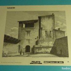 Coleccionismo: LÁMINA VISTA DE UNA TUMBA EN DAIMUZ. GRABADO DE LABORDE. EL REINO DE VALENCIA. Lote 180261652