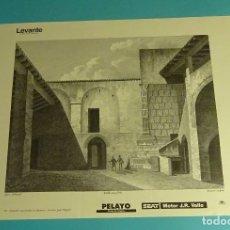 Coleccionismo: LÁMINA VISTA DE UNA TUMBA EN DAIMUZ. GRABADO DE LABORDE. EL REINO DE VALENCIA. Lote 180261685