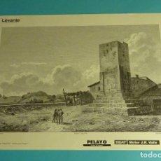 Coleccionismo: LÁMINA TUMBA DE VILLAJOYOSA. GRABADO DE LABORDE. EL REINO DE VALENCIA. Lote 180262087