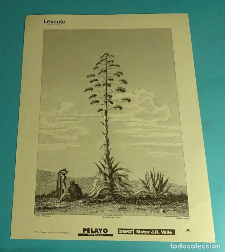 LÁMINA PITERAS. GRABADO DE LABORDE. EL REINO DE VALENCIA (Coleccionismo - Laminas, Programas y Otros Documentos)