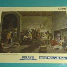Coleccionismo: LÁMINA INTERIOR DE UN ALBERGUE DEL REINO DE VALENCIA. GRABADO DE LABORDE. EL REINO DE VALENCIA. Lote 180262392