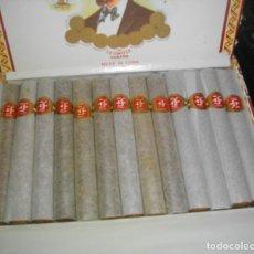 Coleccionismo: CAJA DE PUROS HABANO - CUBA FONSECA 25 DELICIAS ( COMPLETA CON SUS 25 PIEZAS) MUY BUEN. Lote 180282883