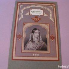 Colecionismo: MENU DE AIR INDIA, 24,5X16 CM. AÑOS 90.. Lote 180284230