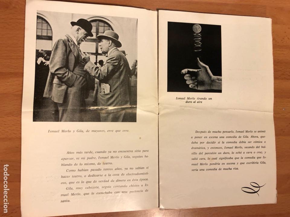 Coleccionismo: Programa teatro barcelona contamos contigo.ismael merlo vicky lagos gila - Foto 3 - 180289085