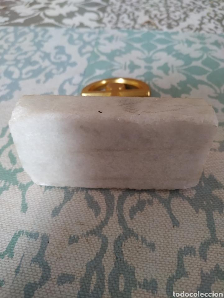 Coleccionismo: Indalo metal y peana marmol - Foto 2 - 180448012