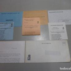 Coleccionismo: PROPAGANDA ELECTORAL PSOE 1987. Lote 180483521