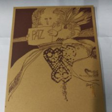 Coleccionismo: NATALIO BAYO - PROMOCION 75/76 - ESCUELA DE ARTES APLICADAS - ZARAGOZA. Lote 180484926