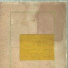 Coleccionismo: 1164.- COLISEO ALBIA BILBAO - FUNCION BENEFICA 23 ENERO DE 1918-CINE MUDO - CHARLOT- MUSICA GRANADOS. Lote 180837595