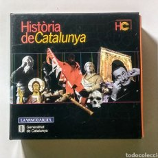 Coleccionismo: 14 CD'S. HISTORIA DE CATALUNYA. LA VANGUARDIA.. Lote 180887796