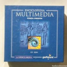 Coleccionismo: 12 CD'S. ENCICLOPÈDIA MULTIMEDIA. PLANETA AGOSTINI.. Lote 180892326