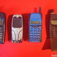 Coleccionismo: LOTE DE CUATRO TELÉFONO ANTIGUO MOTOROLA ERICKSON SIEMENS. Lote 180896232