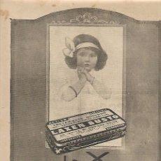 Coleccionismo: AÑO 1924 RECORTE PRENSA PUBLICIDAD LAXANTE LAXEN BUSTO PURGANTE. Lote 181103646