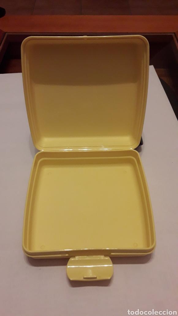 Coleccionismo: Tupperware sandwichera/caja Bob Esponja - Foto 4 - 181426027