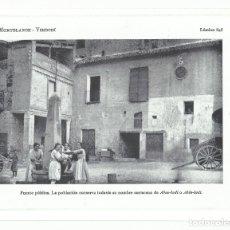 Collectionnisme: LÁMINA FOTOGRÁFICA- VIMBODÍ.- FUENTE PÚBLICA. MONTBLANCH. TARRAGONA- AÑOS 20. Lote 181598340