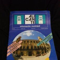 Coleccionismo: PROGRAMA ALICANTE 1987,MUNICIPAL.. Lote 182236726
