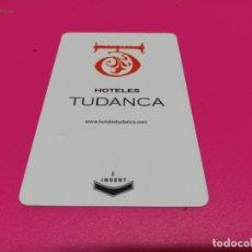 Coleccionismo: TARJETA HOTELES TUDANCA . Lote 182240846