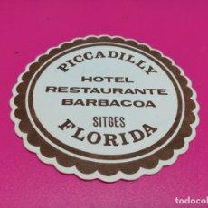Coleccionismo: POSAVASO HOTEL PYCCADILLY . Lote 182289247
