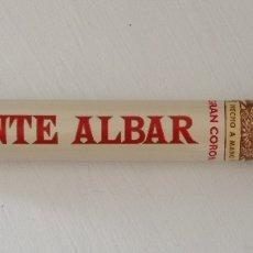 Coleccionismo: MONTE ALBAR GRAN CORONA PURO EN TUBO DE METAL PROCEDENTE DE UNA BODA. Lote 182327132