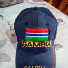 Coleccionismo: GORRA GAMBIA. Lote 182490665