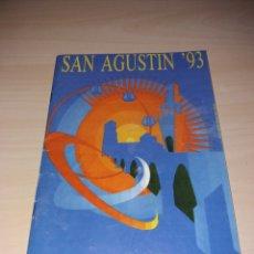 Coleccionismo: FERIAS Y FIESTAS DE SAN AGUSTÍN, TORO 1993. Lote 182646137