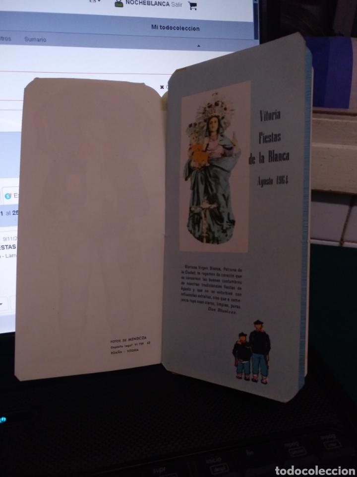 Coleccionismo: Programa de mano fiestas vitoria 1964 - Foto 2 - 182650972