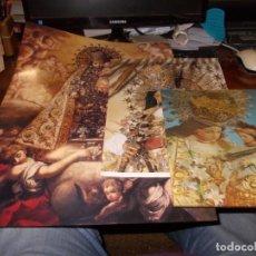 Coleccionismo: NUESTRA SEÑORA DE LOS DESAMPARADOS, 3 LÁMINAS UNA CON EFECTO 3D, VER FOTOS Y LEER DESCRIPCIÓN. Lote 182720036