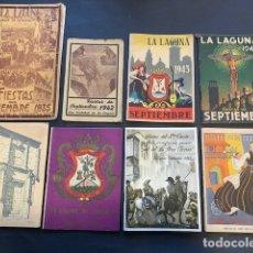 Collezionismo: FIESTA CRISTO DE LA LAGUNA TENERIFE 1935, 1941-1953, 1955-1959, 1973-1974.. Lote 182911170