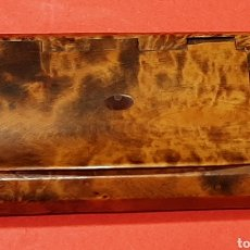 Coleccionismo: CAJA DE RAPE , RAIZ DE OLIVO. MIDE 8,5 X 5 CM.. Lote 182999978