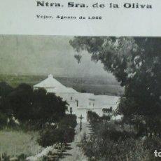 Coleccionismo: VEJER. PROGRAMA DE ACTOS AÑO 1968 VIRGEN DE LA OLIVA. 24 PAGINAS. Lote 183041698