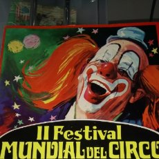 Coleccionismo: PROGRAMA DE MANO DEL II FESTIVAL MUNDIAL DEL CIRCO 1971-72.. Lote 183254125