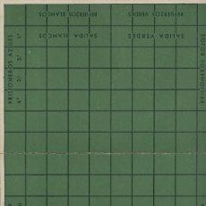 Coleccionismo: CARTON JUEGOS REUNIDOS GEYPER: PRISIONEROS. Lote 183285450