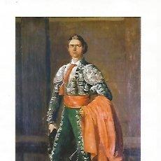 Coleccionismo: LAMINA COSSIO 50323: JOSE REDONDO CHICLANERO. Lote 183285941