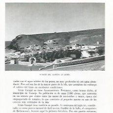Coleccionismo: LAMINA 10366: CASERIO DEL ALEMAN EN JANDIA. Lote 183286730
