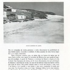 Coleccionismo: LAMINA 10367: PLAYA DE JANDIA. Lote 183286752