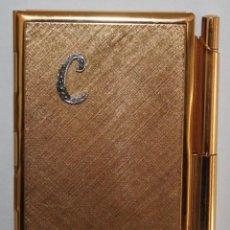 Coleccionismo: PORTA-FOLIOS DE BOLSILLO REALIZADO EN METAL. Lote 183384331