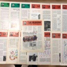 Coleccionismo: SOCIEDAD LA BILBAÍNA. LOTE DE 17 BOLETINES DE LA SOCIEDAD DESDE 1970 A 1976. . Lote 155089462