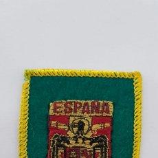 Coleccionismo: ESCUDO PARCHE BORDADO TELA FIELTRO ÁGUILA SAN JUAN ESPAÑA. Lote 183516940