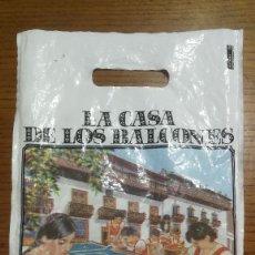 Coleccionismo: BOLSA LA CASA DE LOS BALCONES LA OROTAVA TENERIFE_AÑOS 80. Lote 183585955