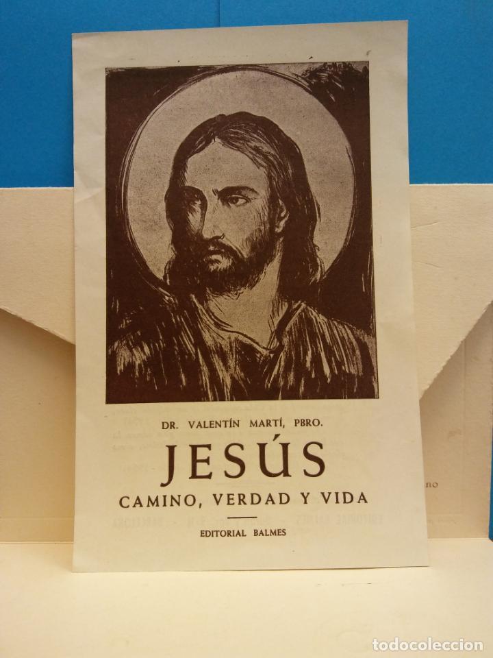 Coleccionismo: TARJETA DE BODA. IGNACIO CASTELLTORT Y NURIA MATAS. IGUALADA, OCTUBRE DE 1954 - Foto 2 - 183816923