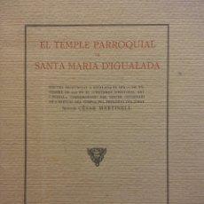 Coleccionismo: DISCURS PRONUNCIAT A IGUALADA 27 DE NOVEMBRE DE 1927, CERTAMEN DE HISTORIA. IGUALADA 1929. Lote 183818298