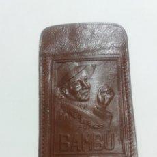 Coleccionismo: BAMBU PAPEL DE FUMAR, ARTERIA DE PIEL.. Lote 183871693